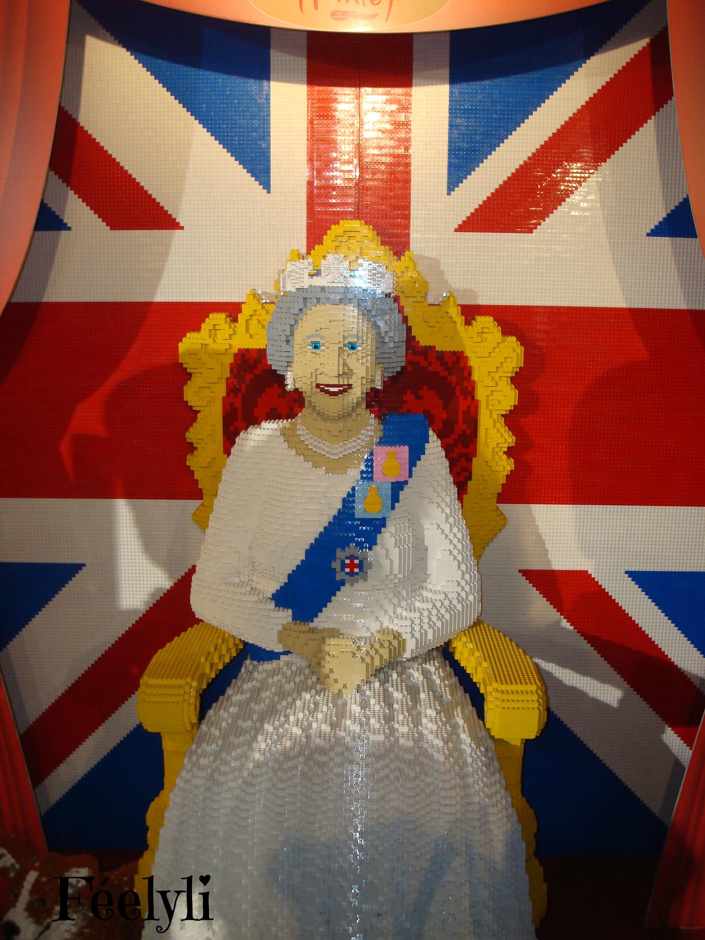 La reine en Lego