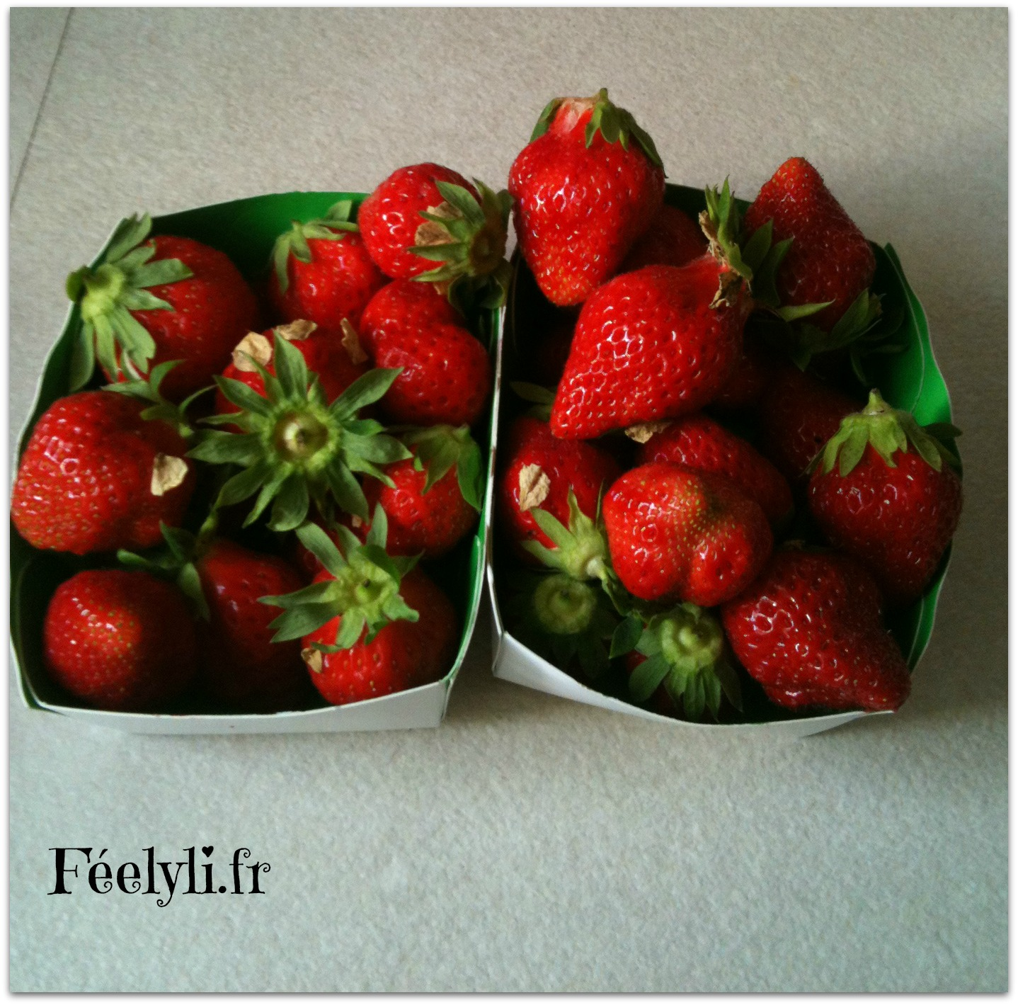 fraises de l'amap
