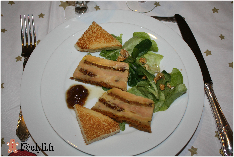 millefeuilles de foie gras aux figues
