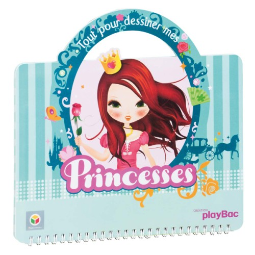 carnet de dessin princesse