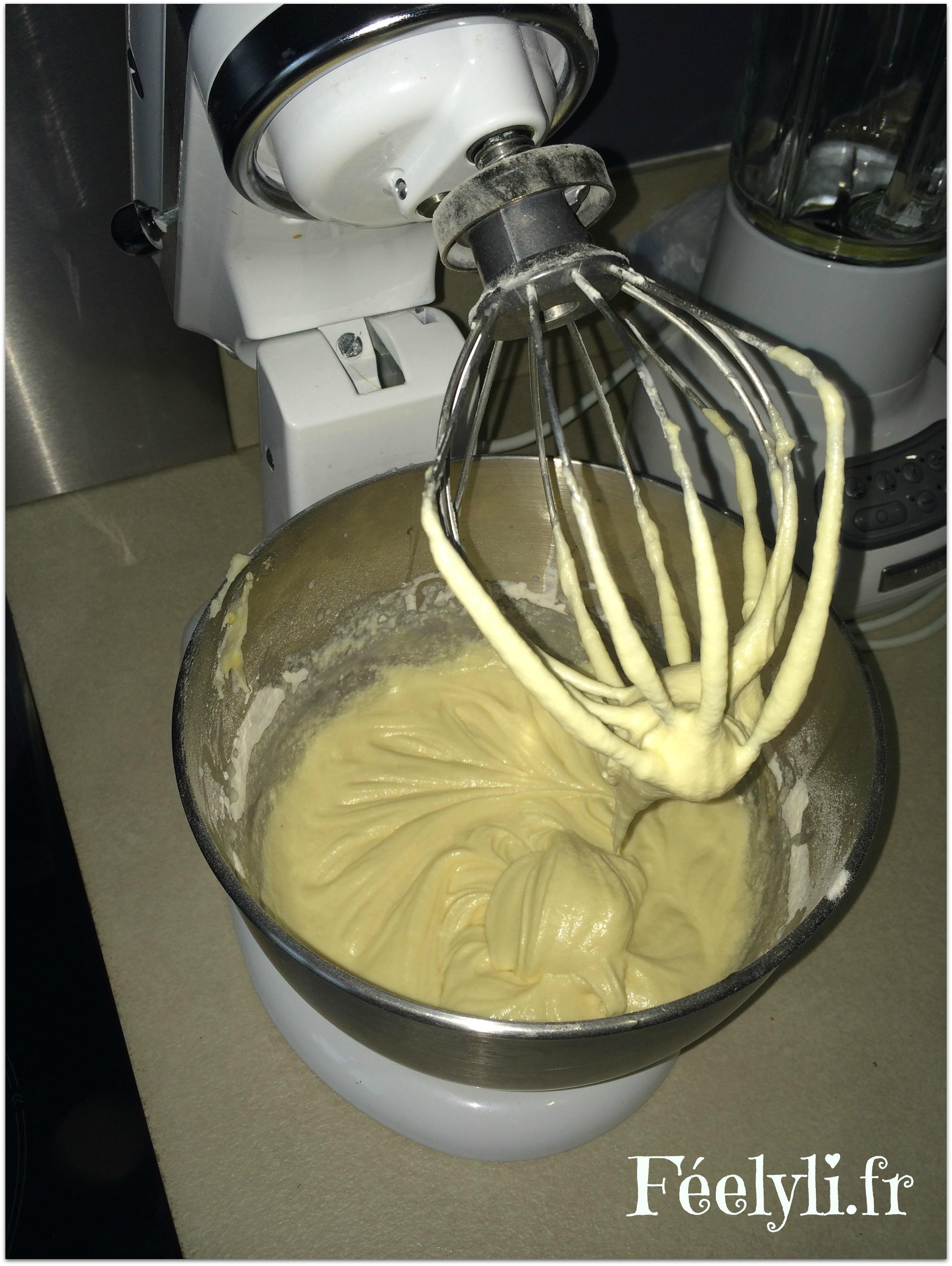 preparation gâteau marbré