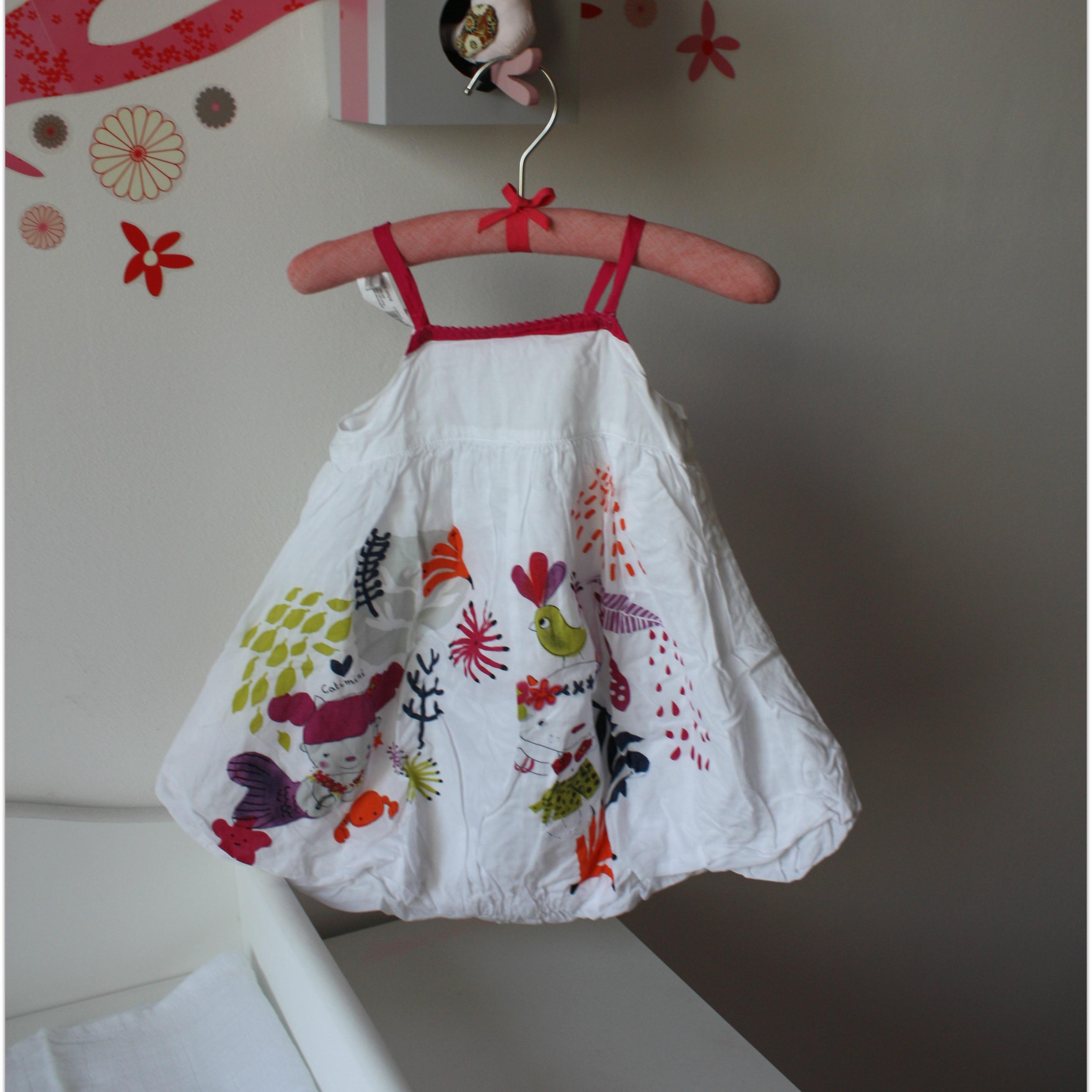 robe catimini - 12 mois