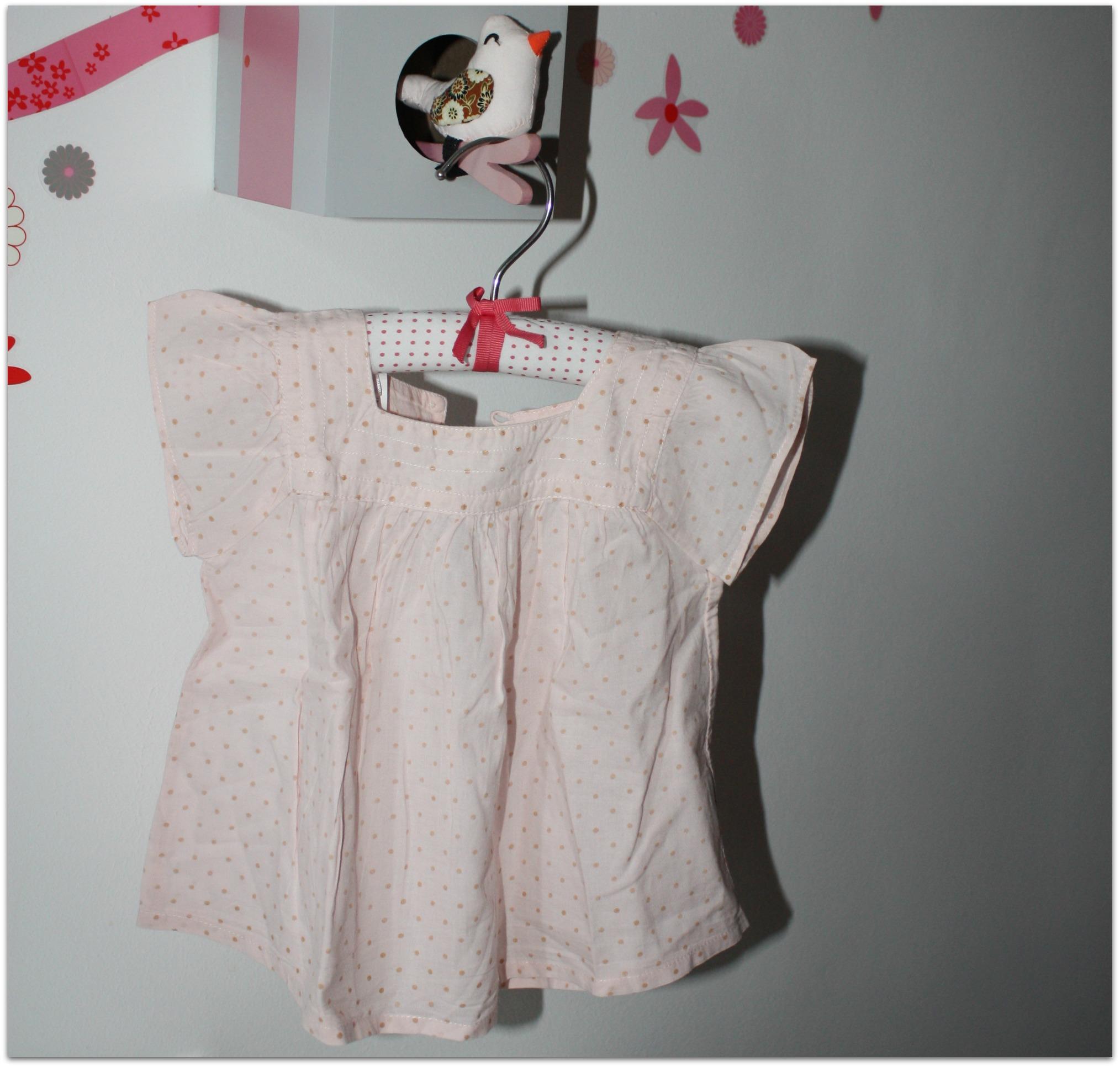 blouse boutchou - 18 mois