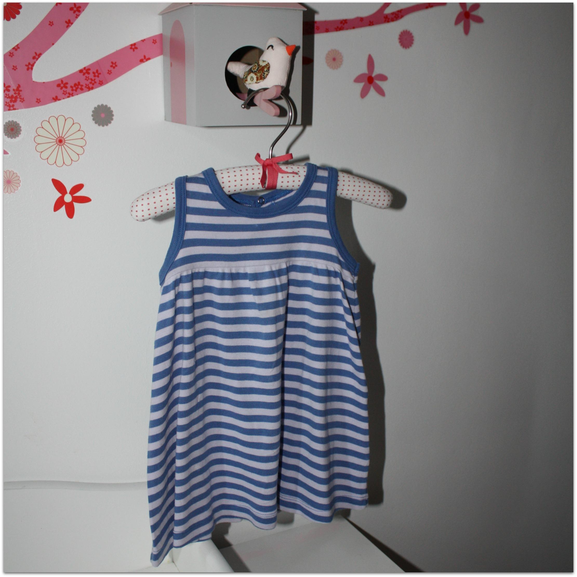 robe Petit Bateau - 12 mois