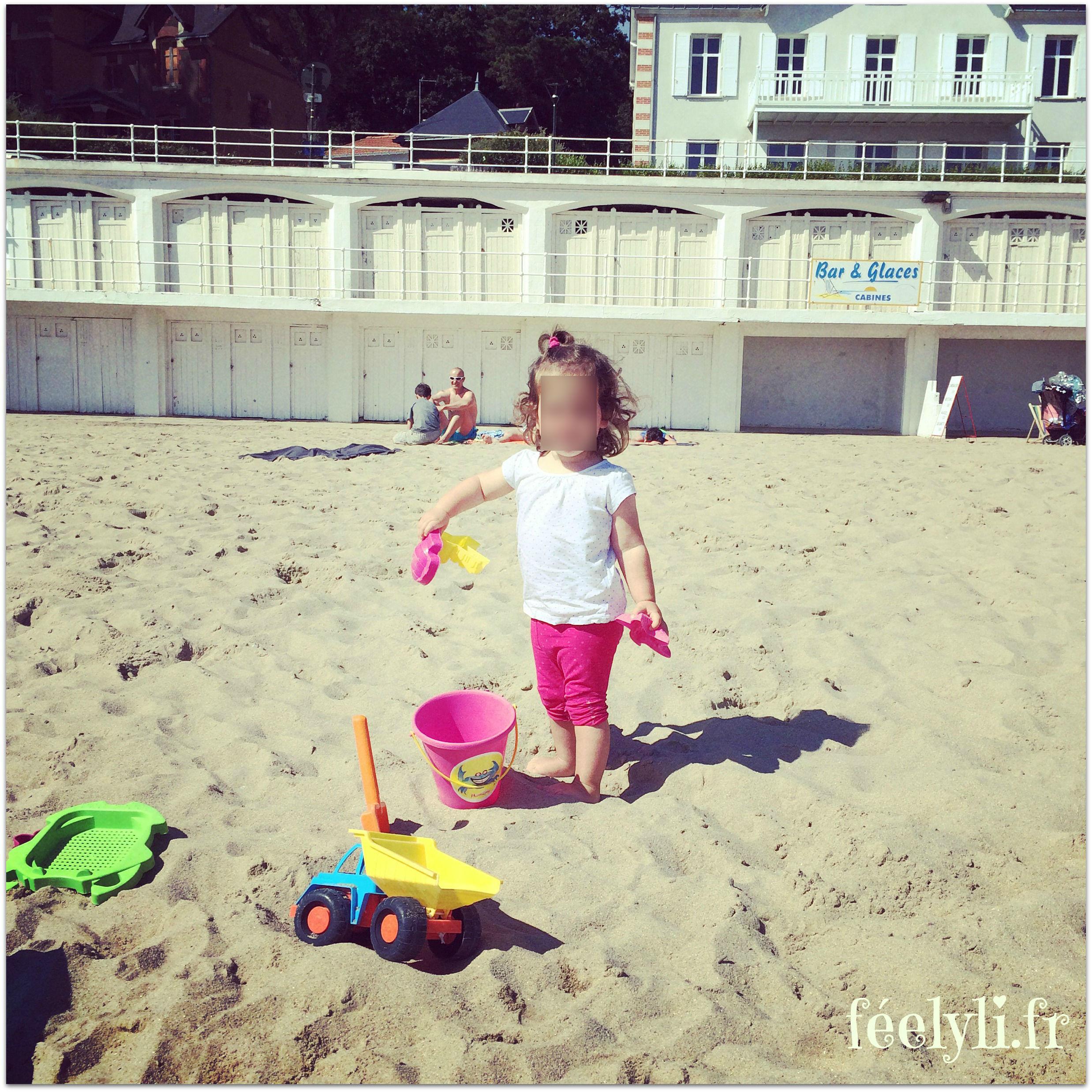 margaux à la plage