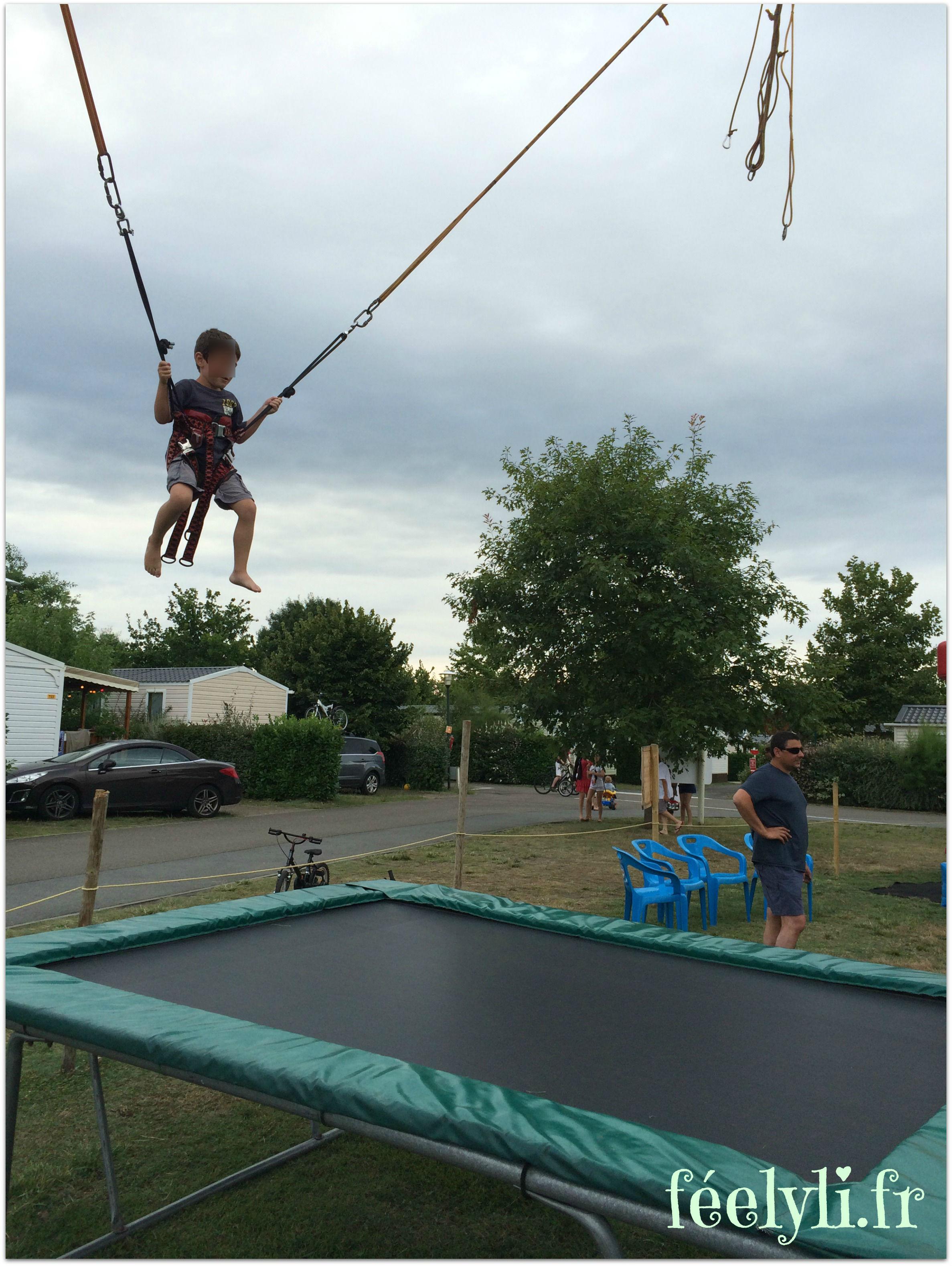 trampoline élastique