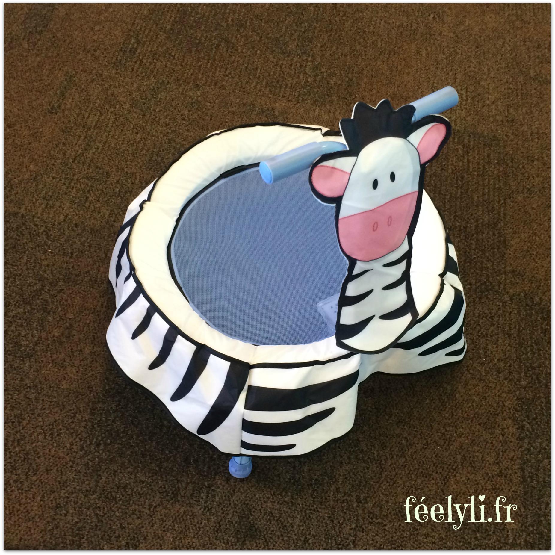 trampoline zebra