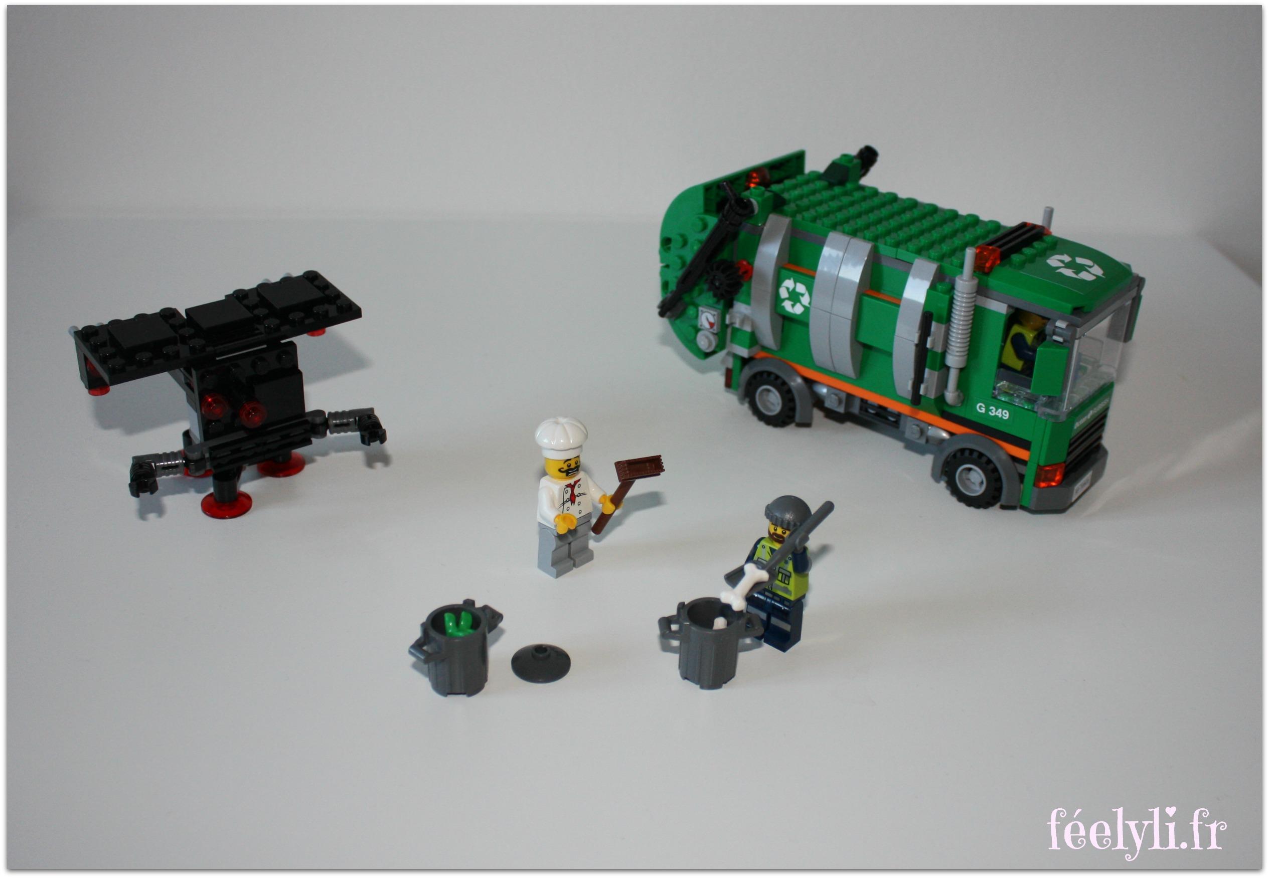 camion de poubelle lego movie