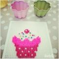 cupcake perles à repasser