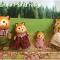 famille panda rouge