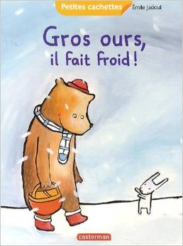 gros ours, il fait froid