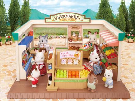 supermarche sylvanian families