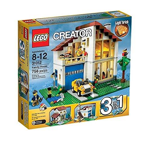 maison de famille lego creator