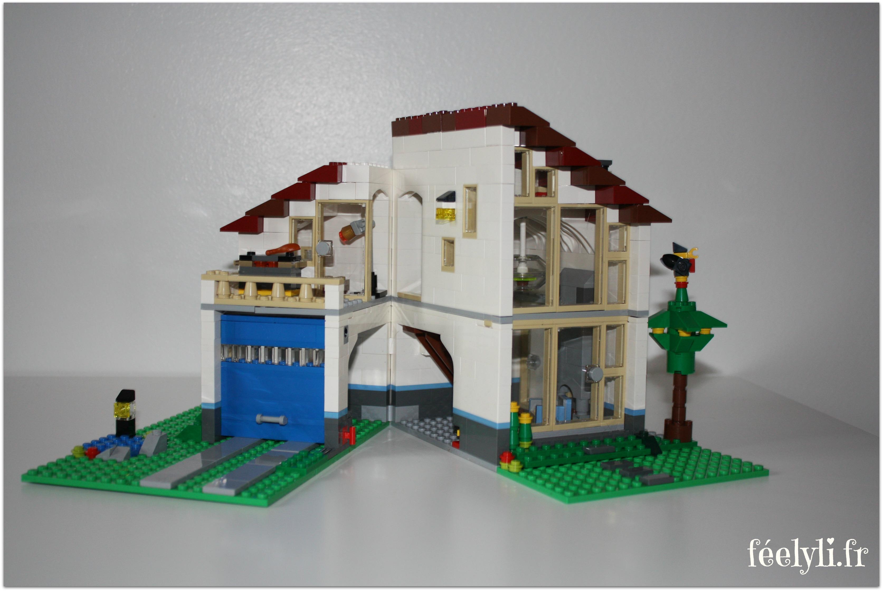 ouverture maiosn famille lego