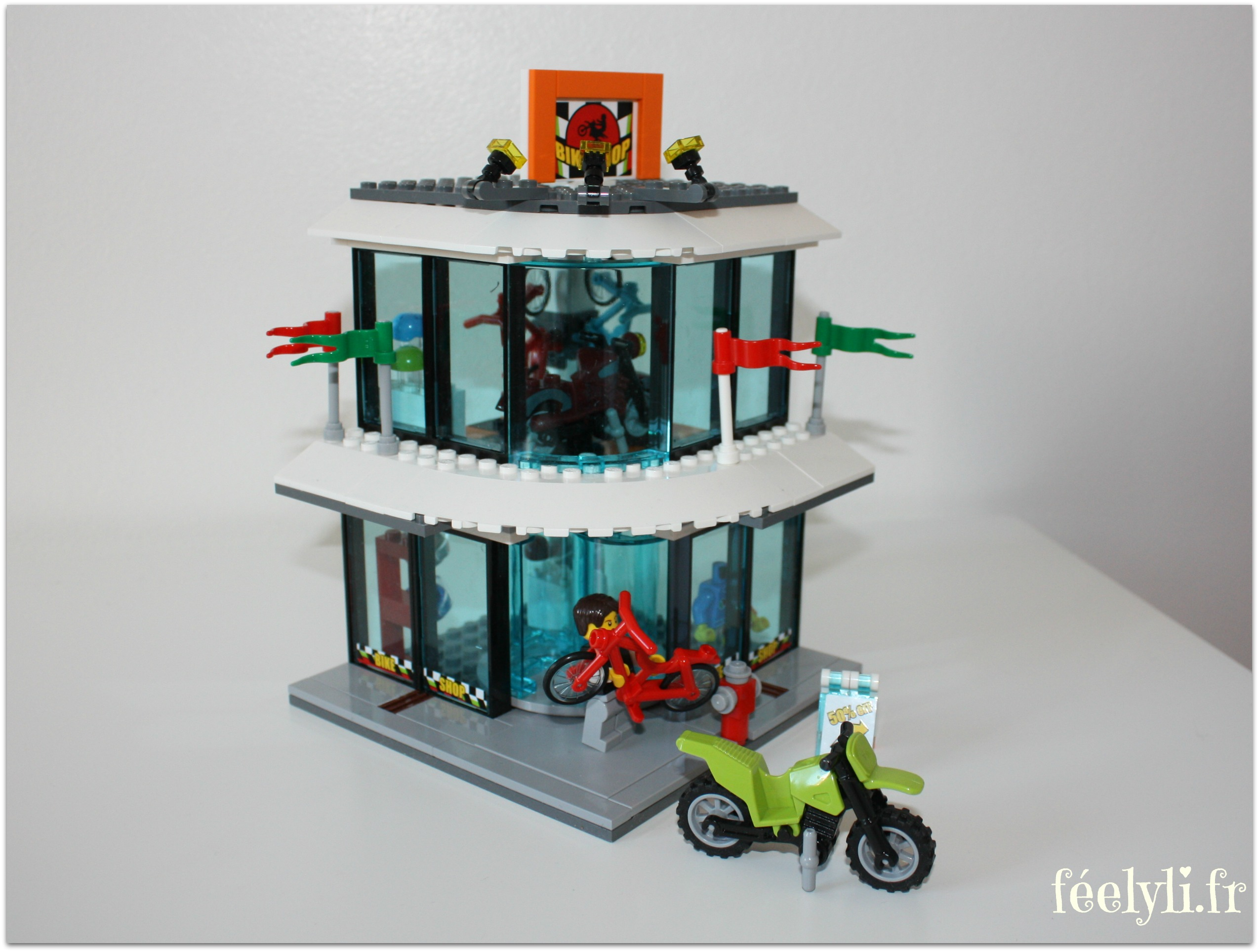 bike shop lego