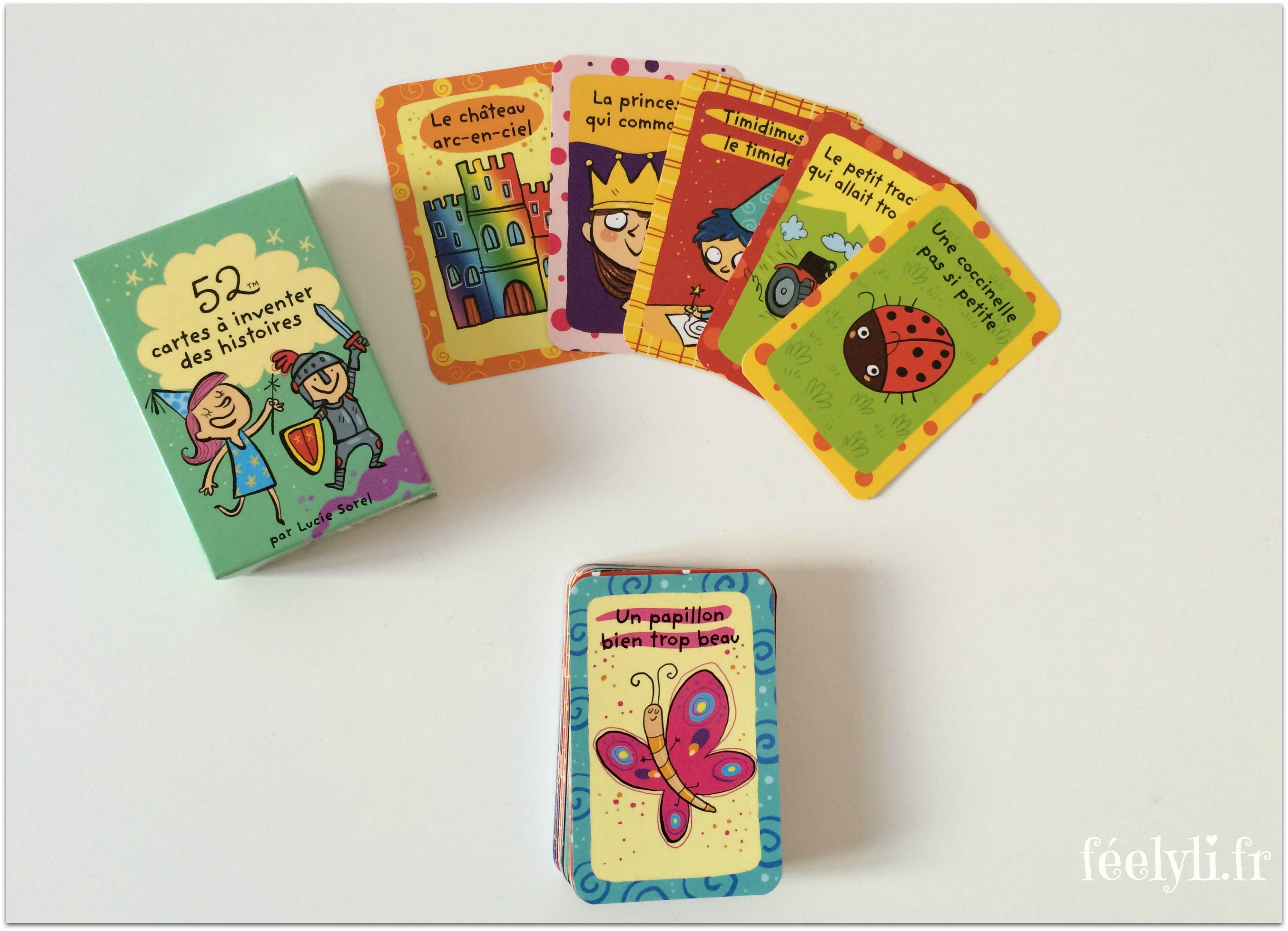 cartes à inventer des histoires