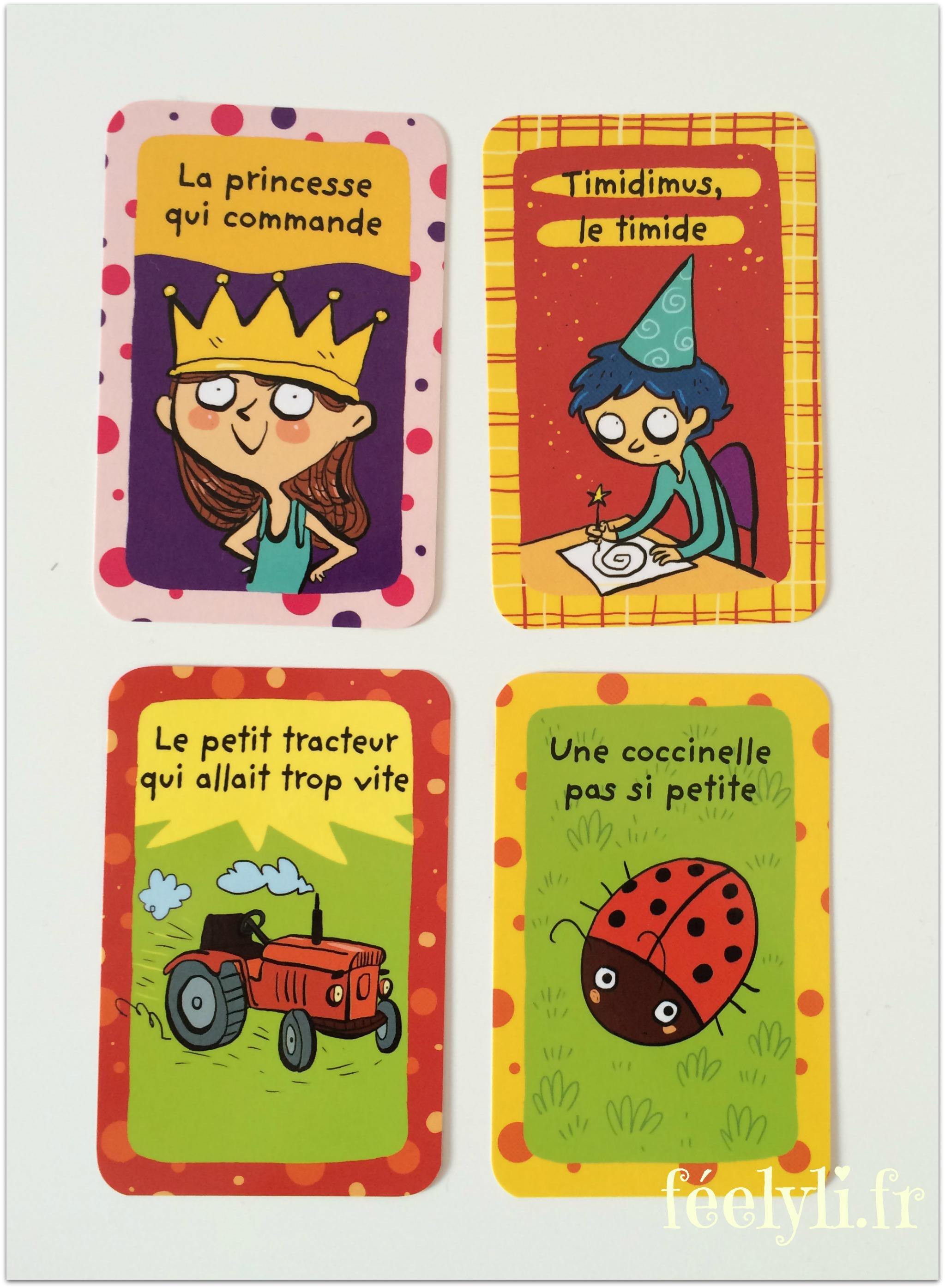 cartes pour inventer des histoires