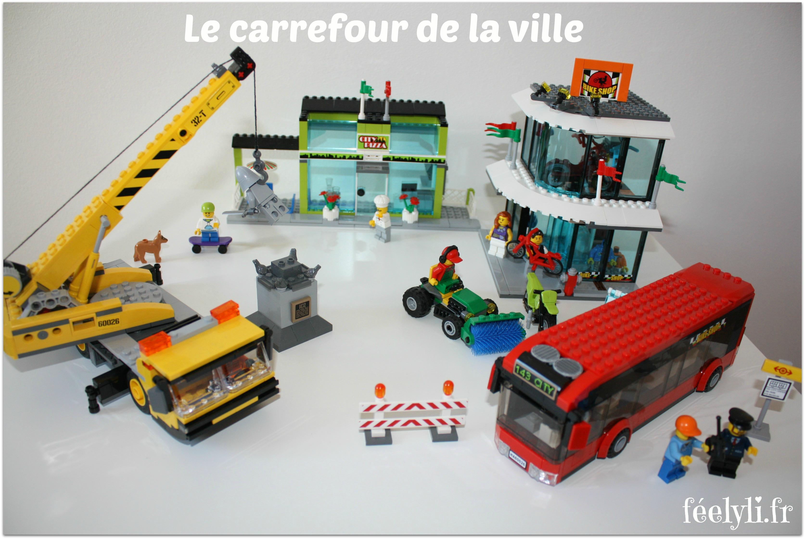le carrefour de la ville lego