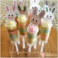 push cakes lapins de paques
