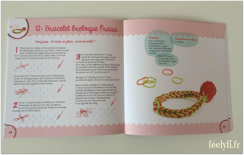 bracelet breloque fraise