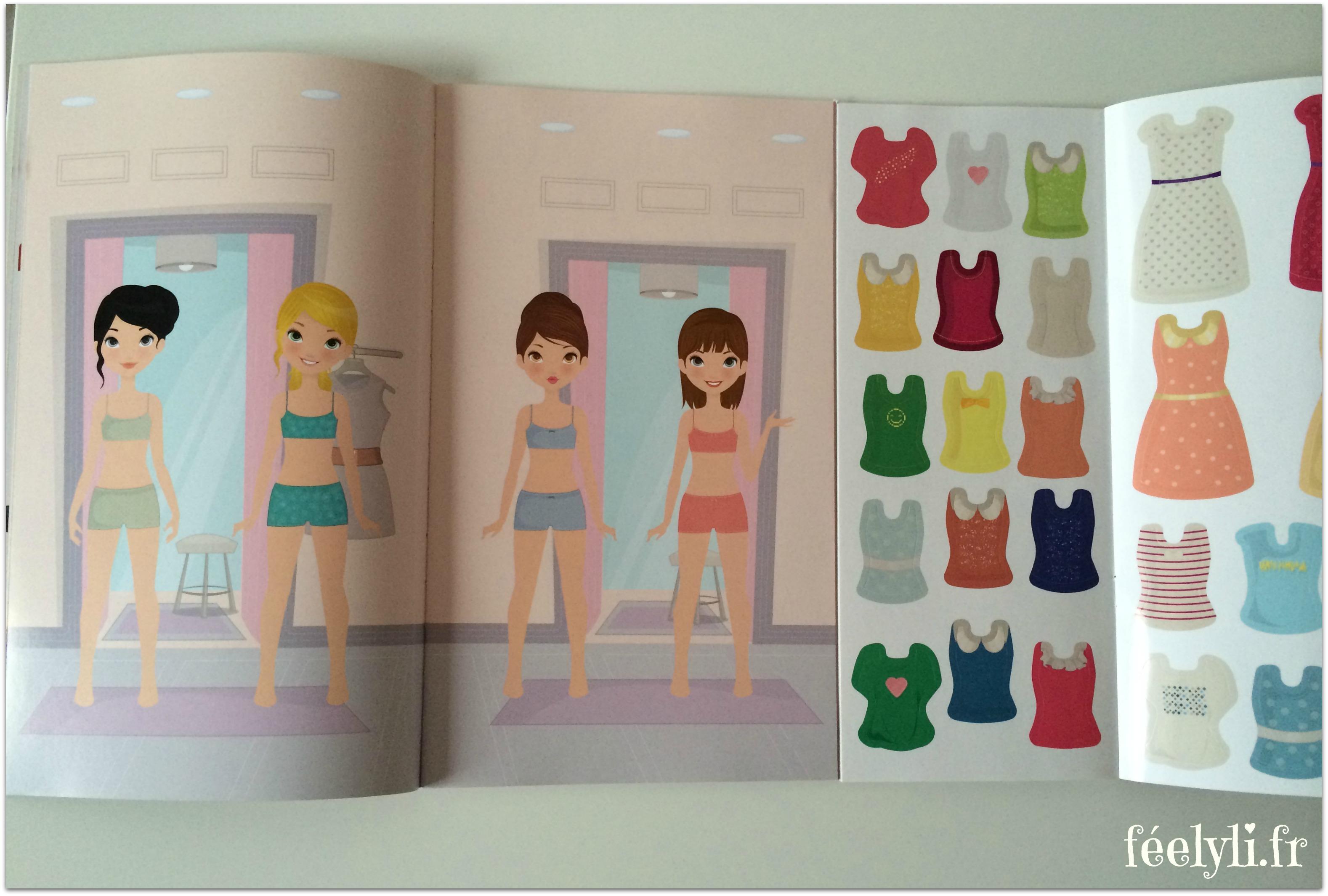 j'habille mes poupées 2