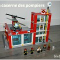 caserne de pompier lego