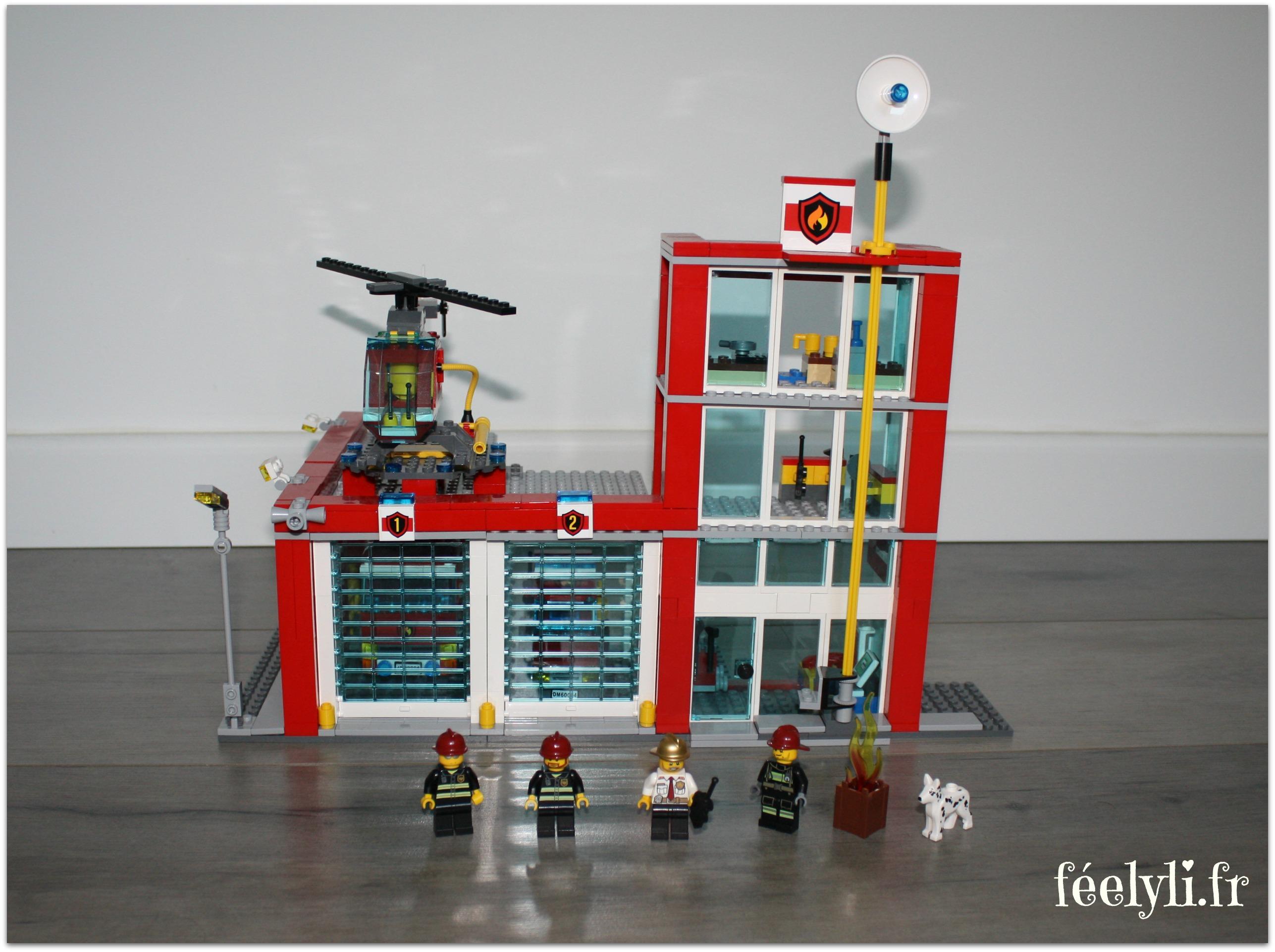 caserne lego city
