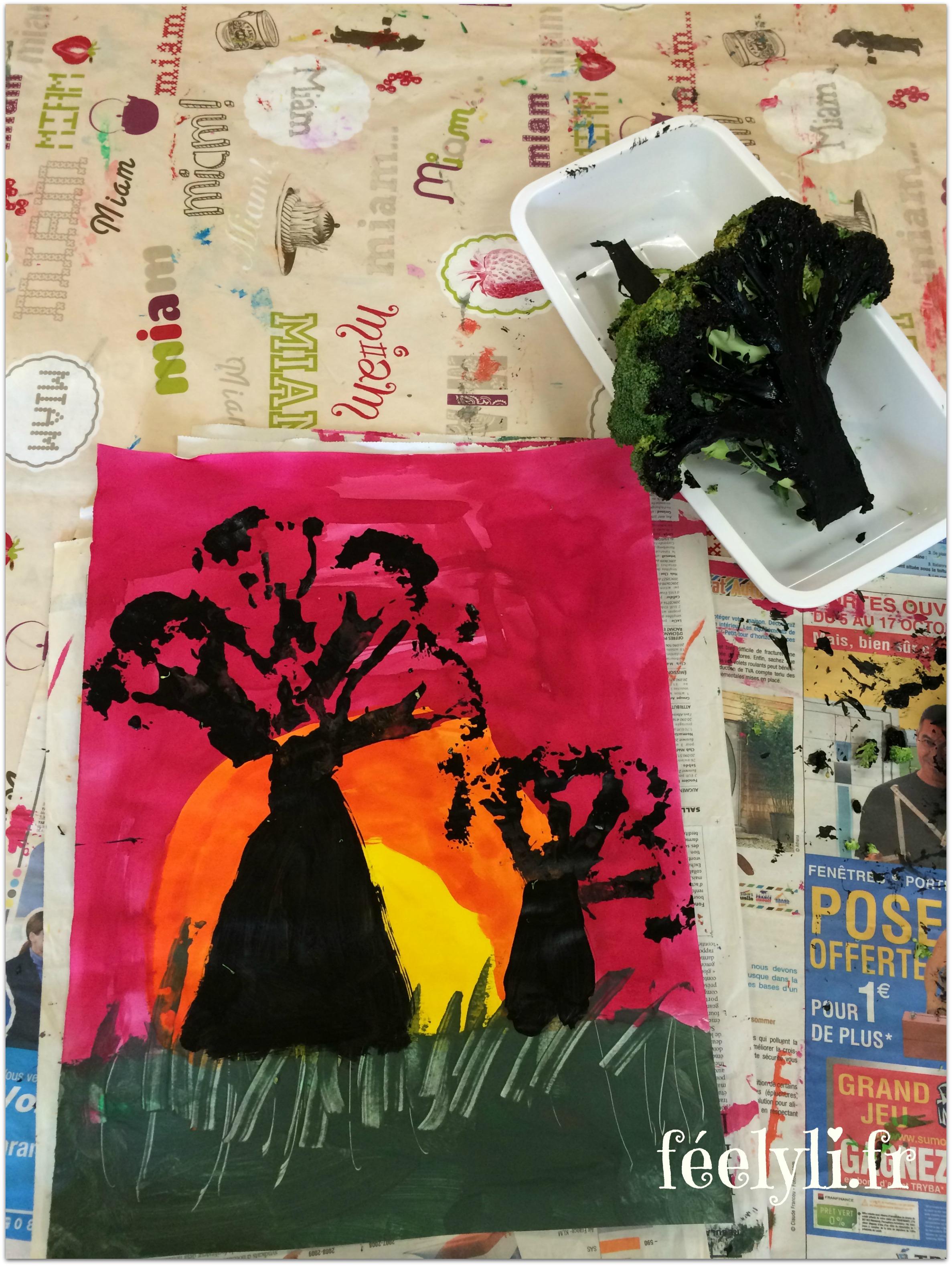 baobab et brocoli