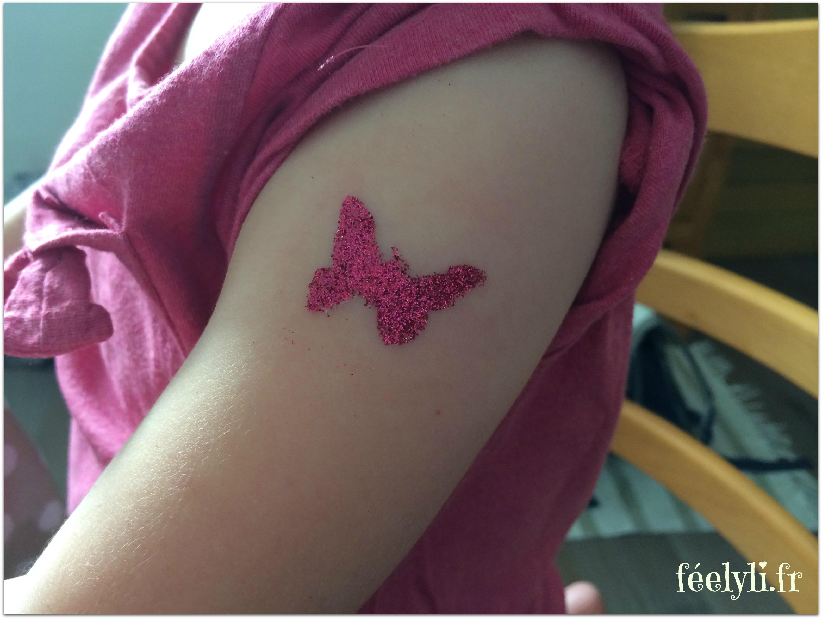 tatouage glimmer papillon