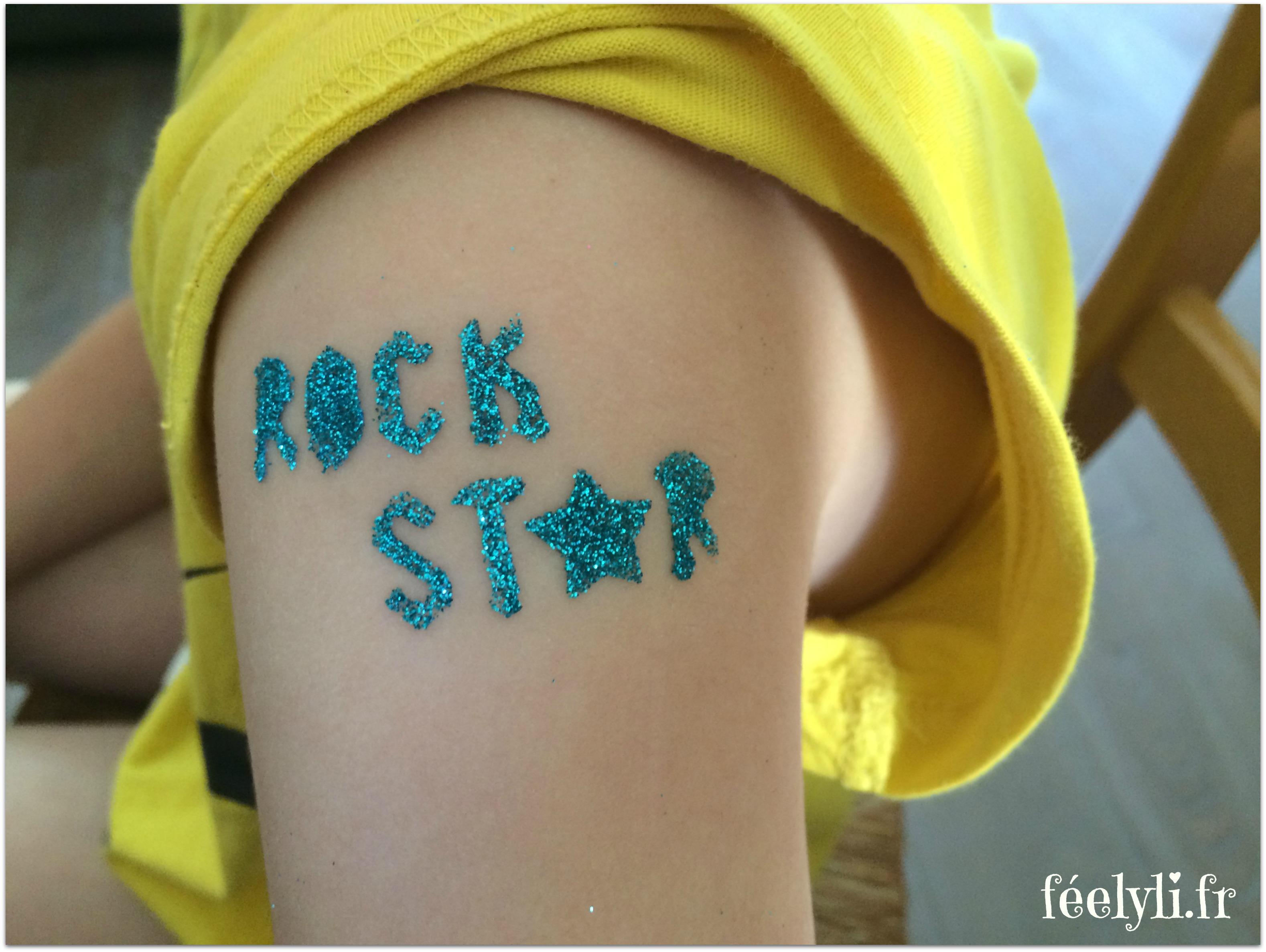 tatouage rock star