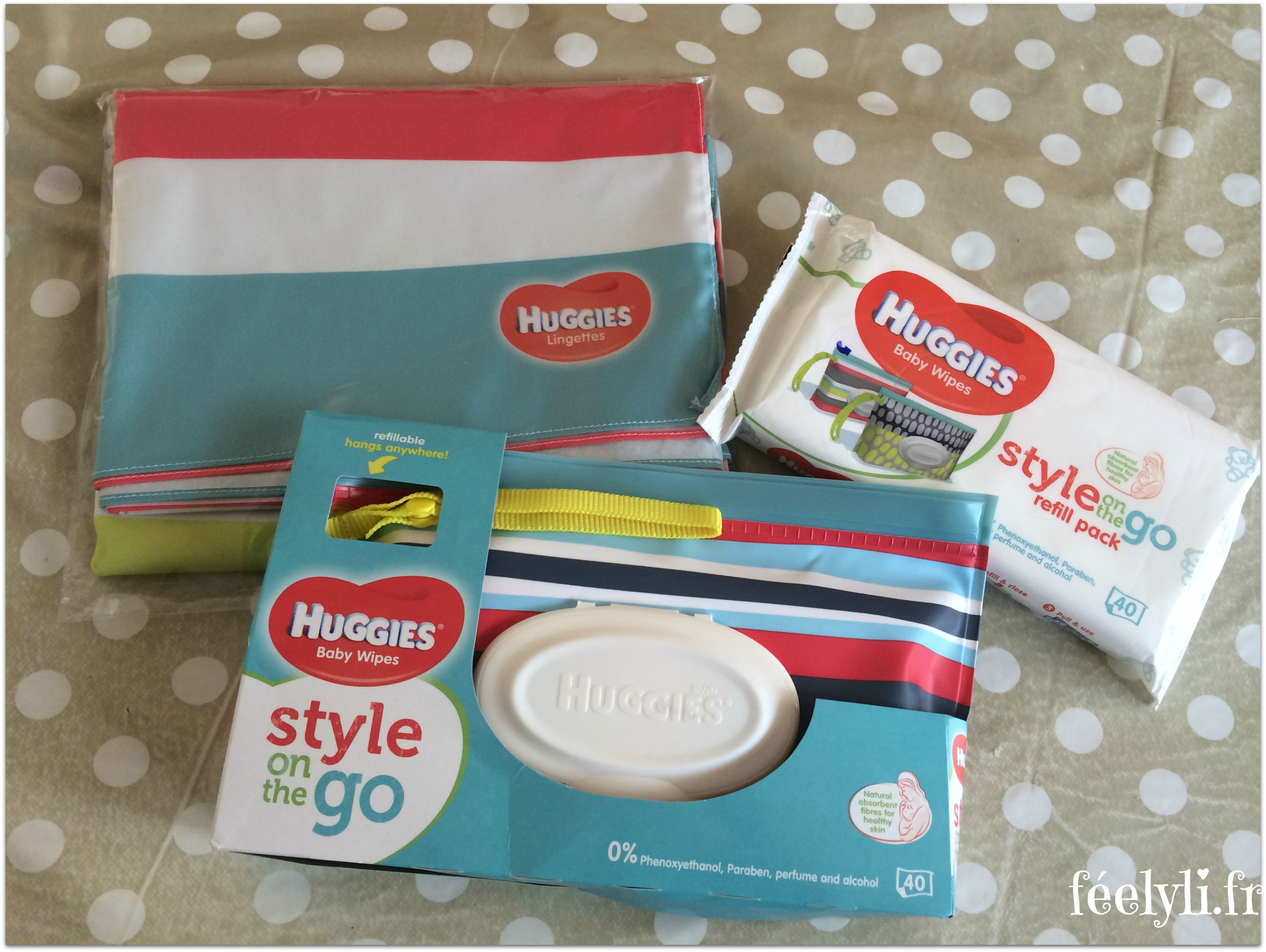 lingettes huggies style