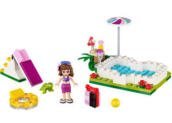 piscine lego friends contenu