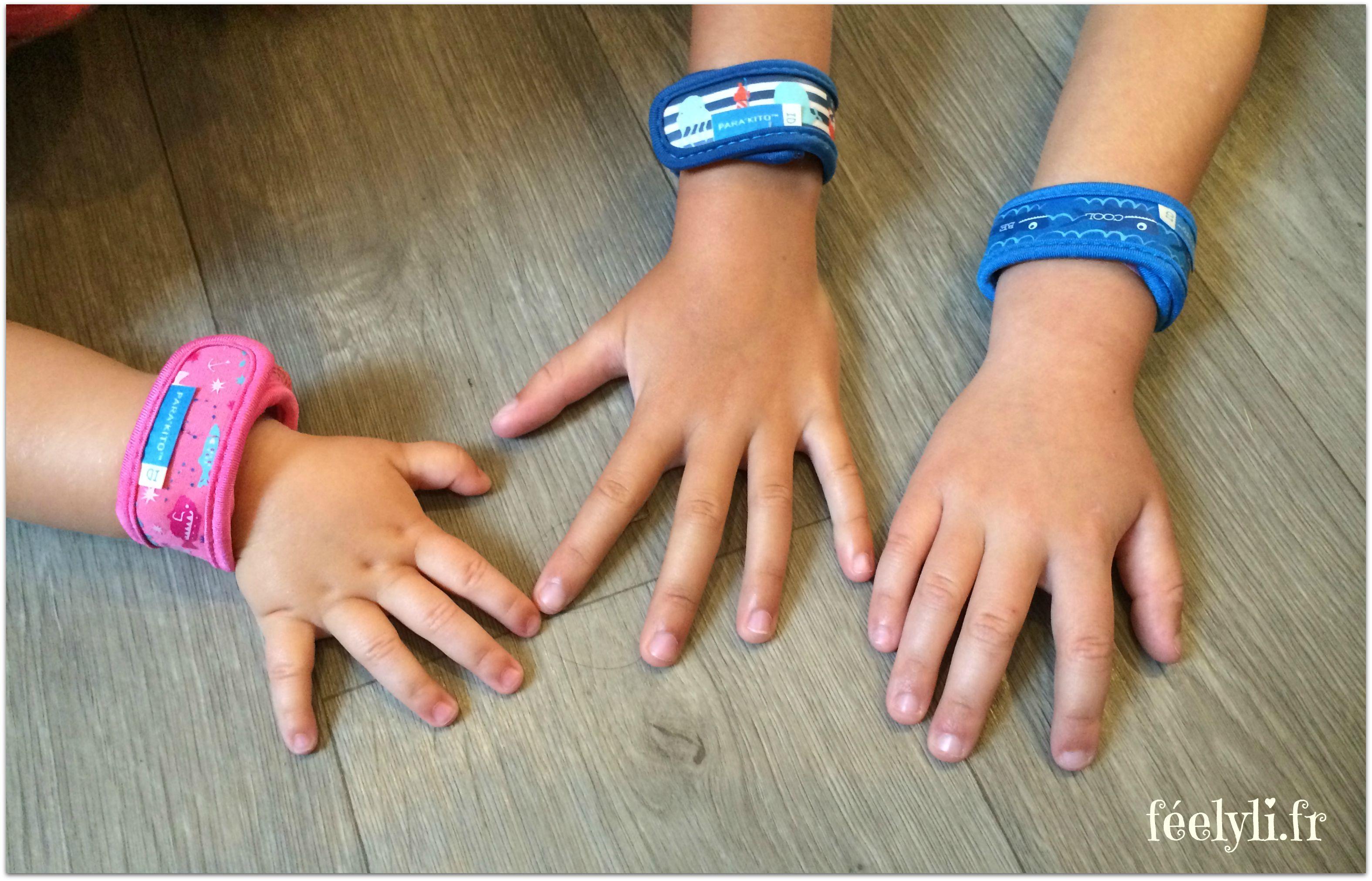bracelets anti moustiques