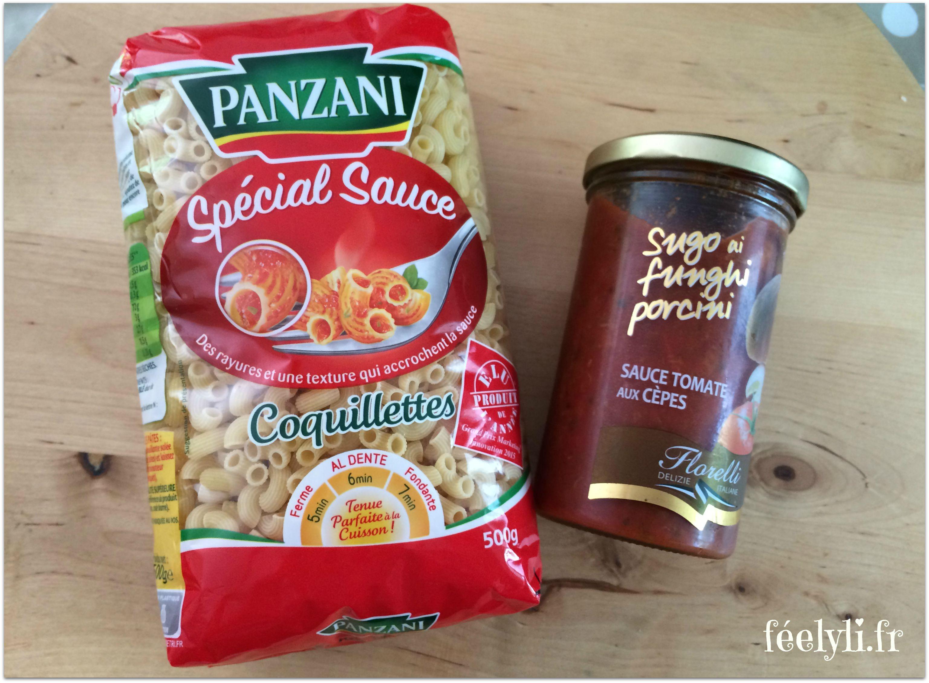 sauce florelli et panzani