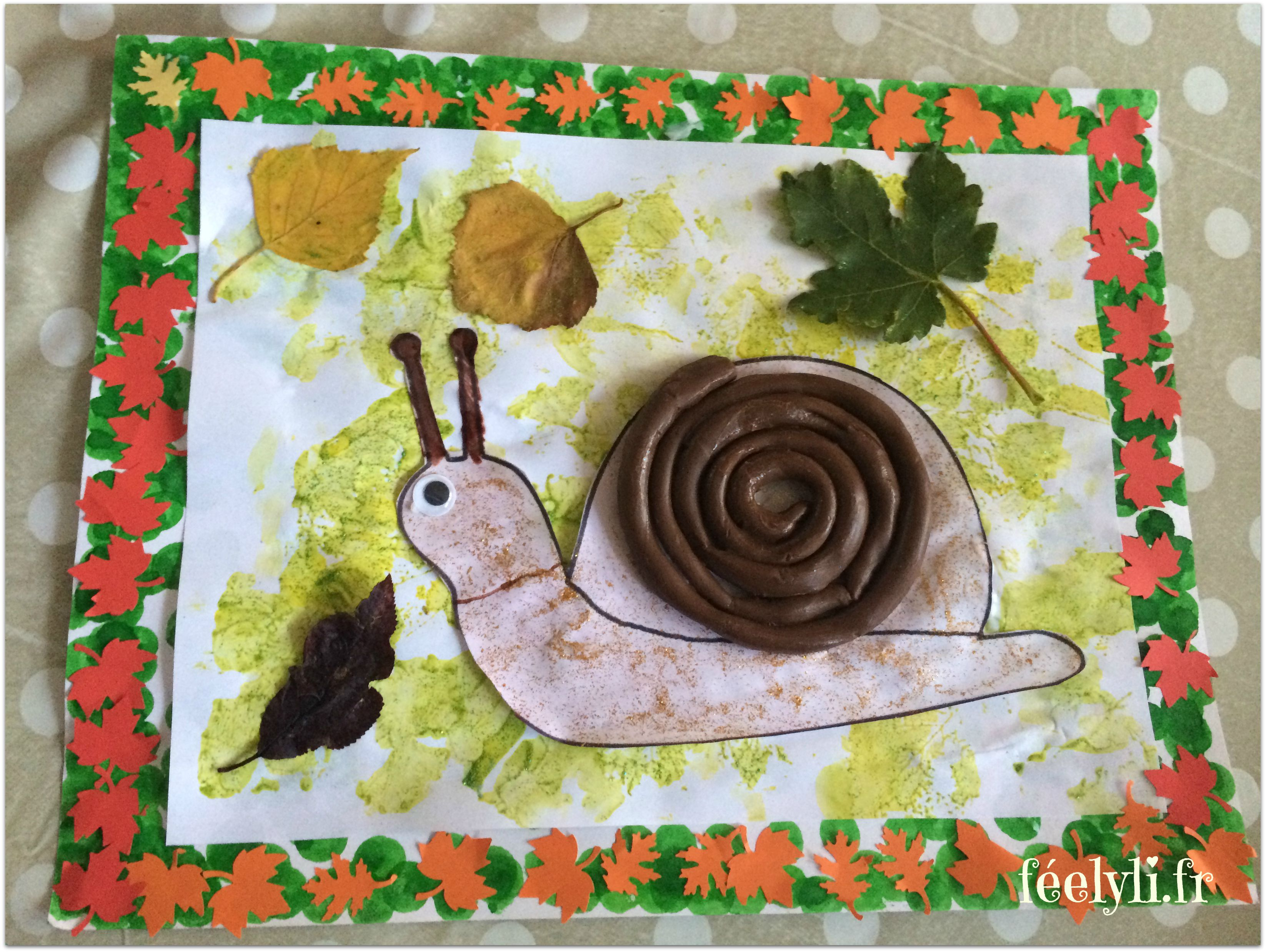 escargot d'automne
