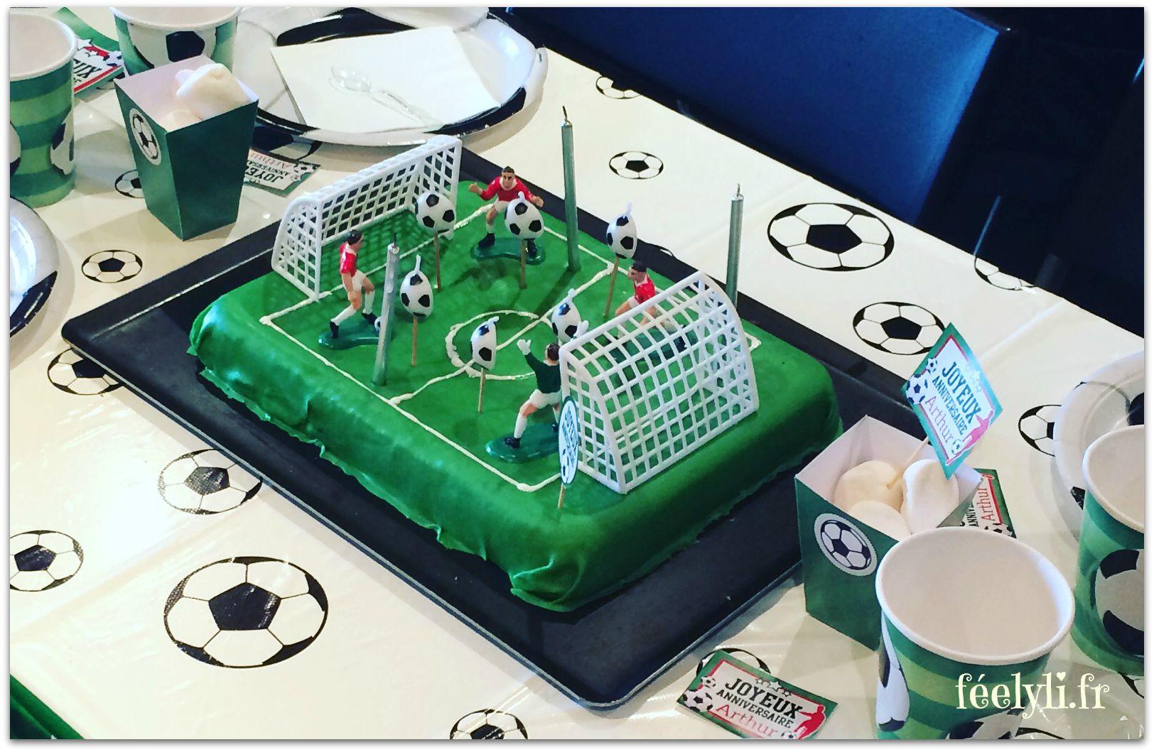 gâteau anniversaire foot