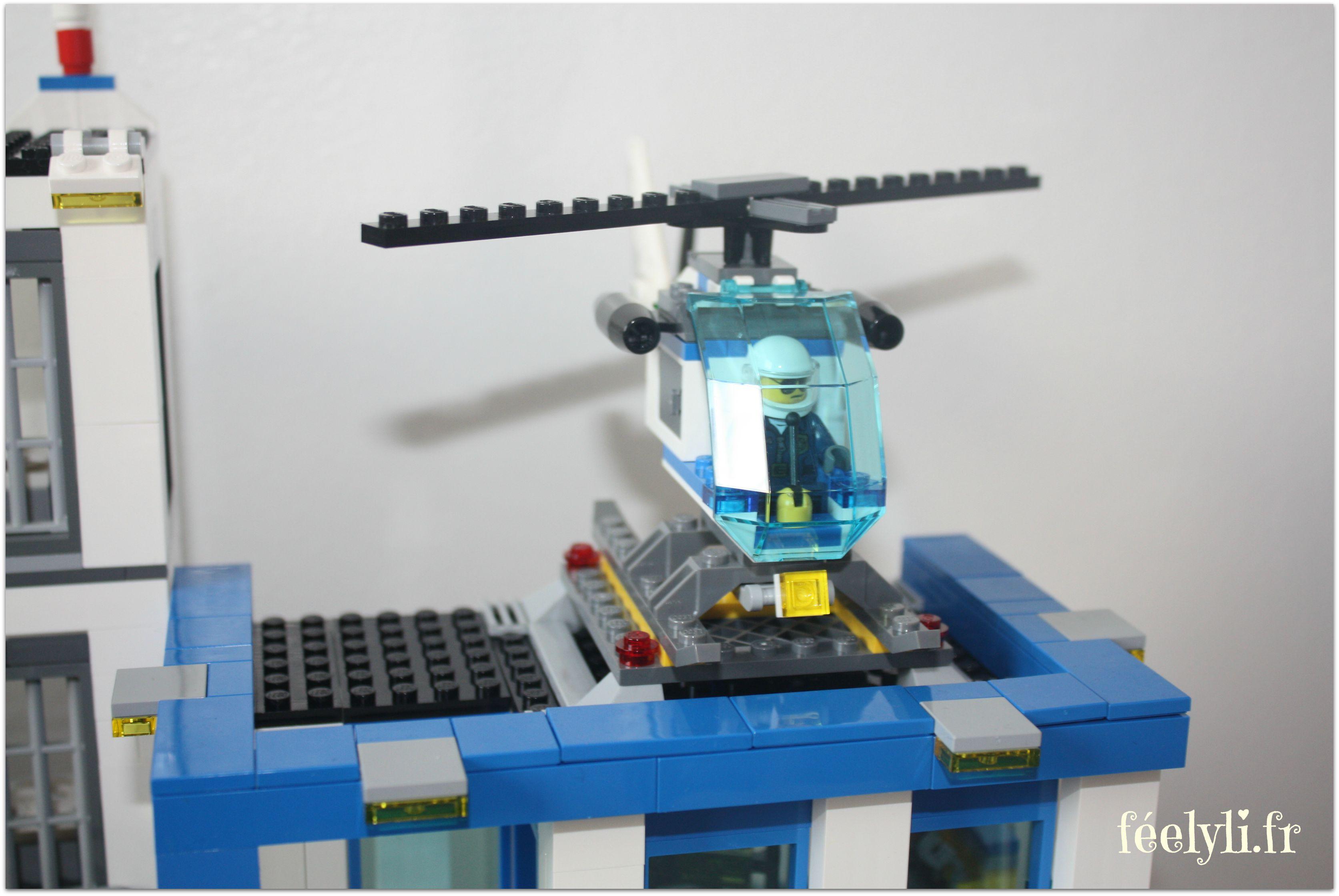 hélicoptère lego city