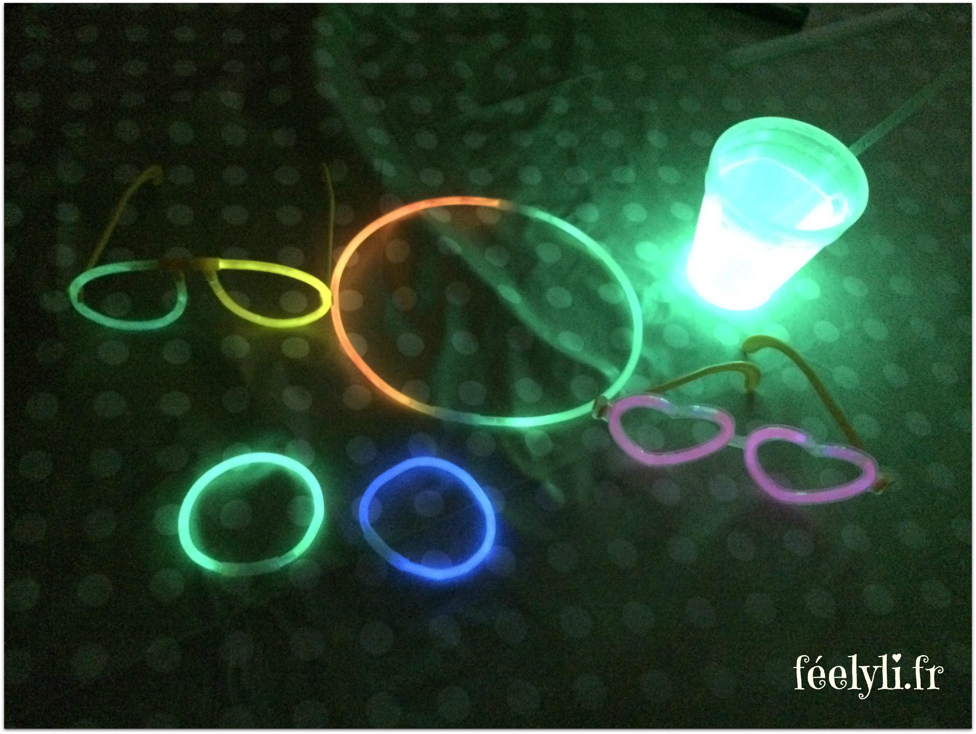 bracelets lumineux