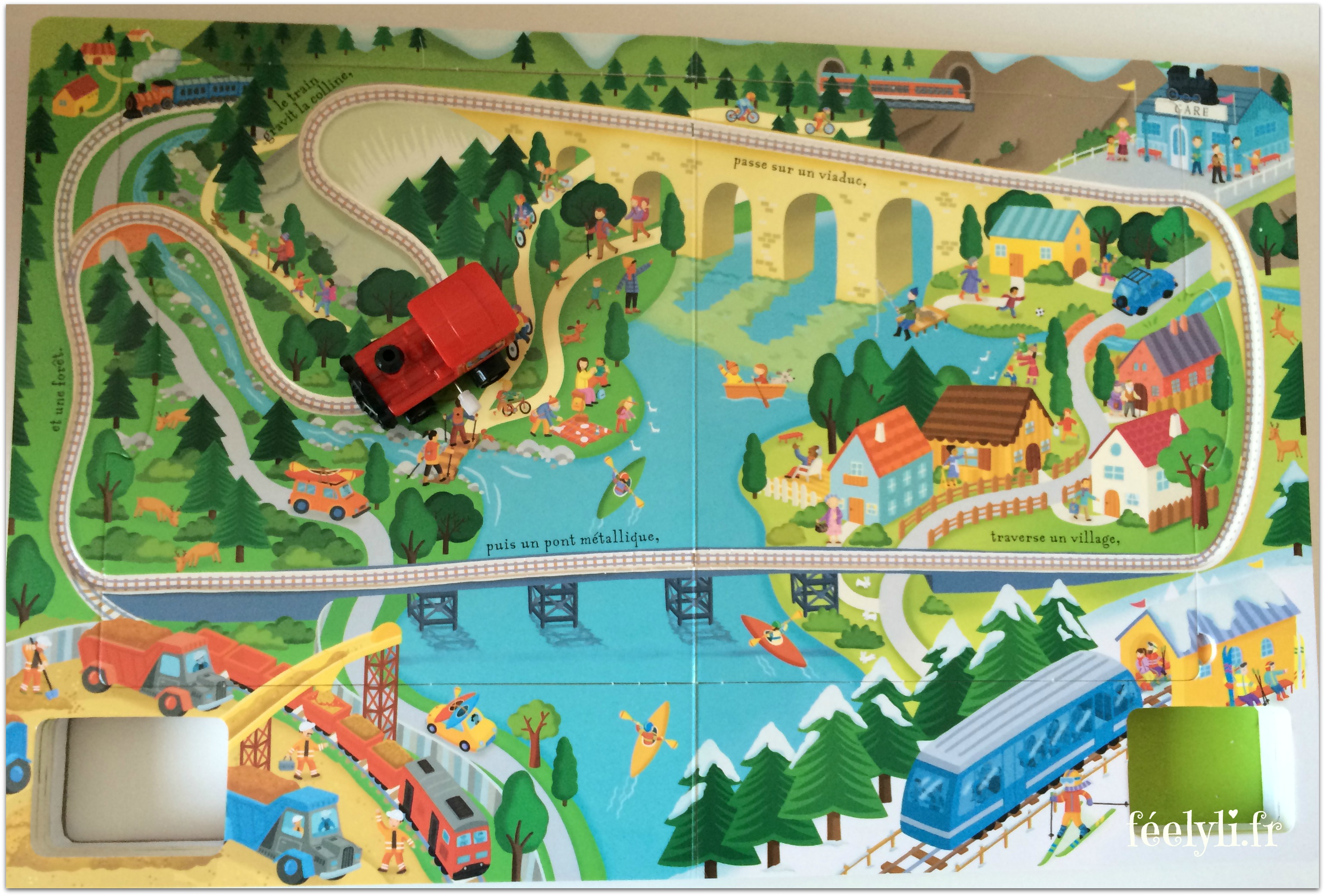 circuit de train usborne