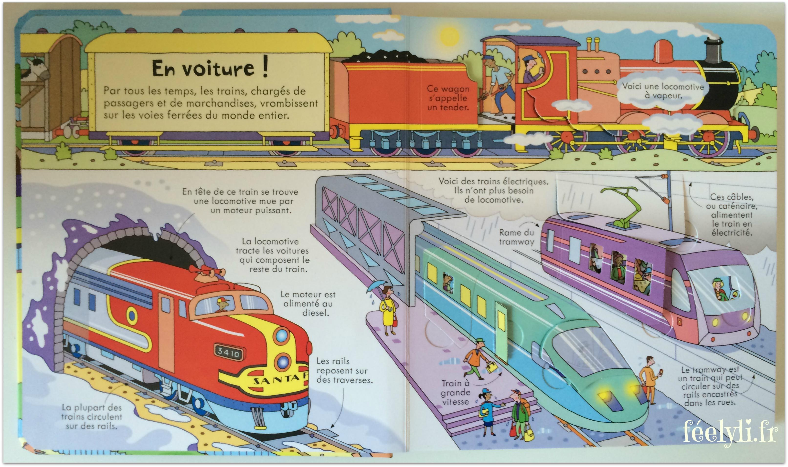 les trains usborne 2