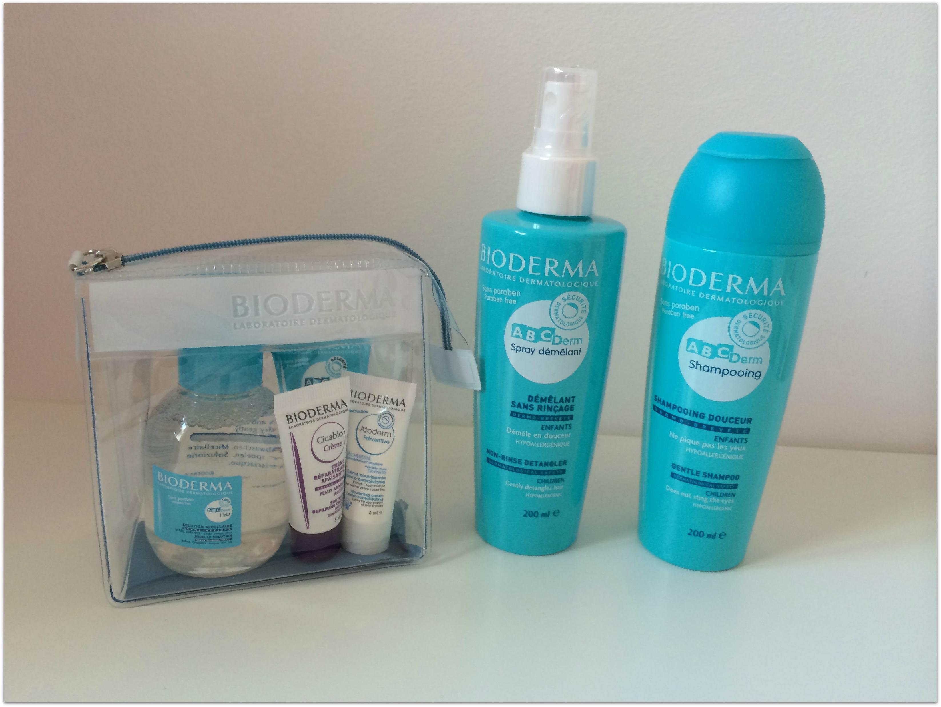 shampooing et demelant bioderma