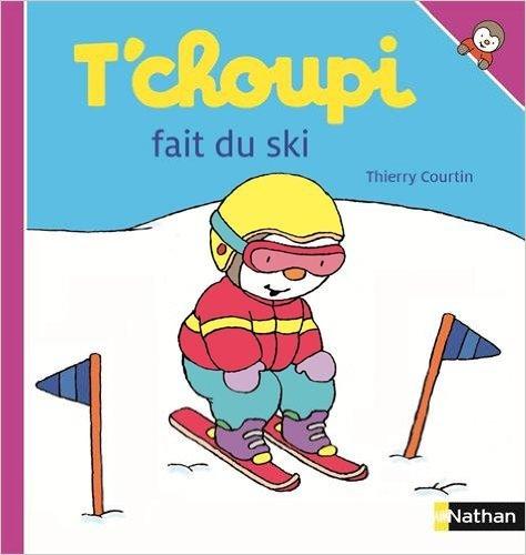 tchoupi fait du ski