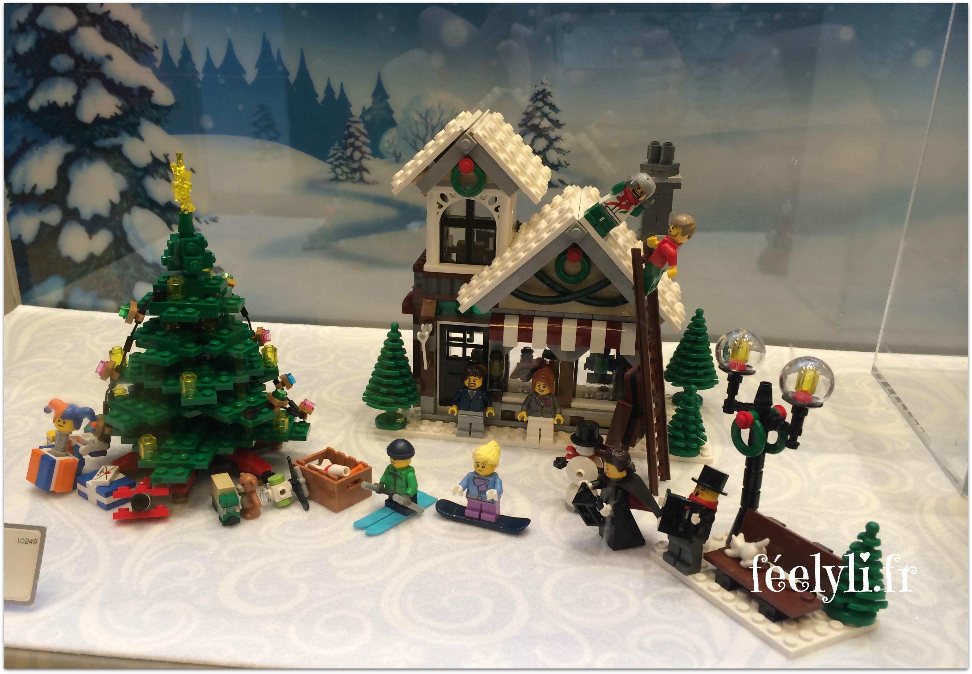 village de noel lego