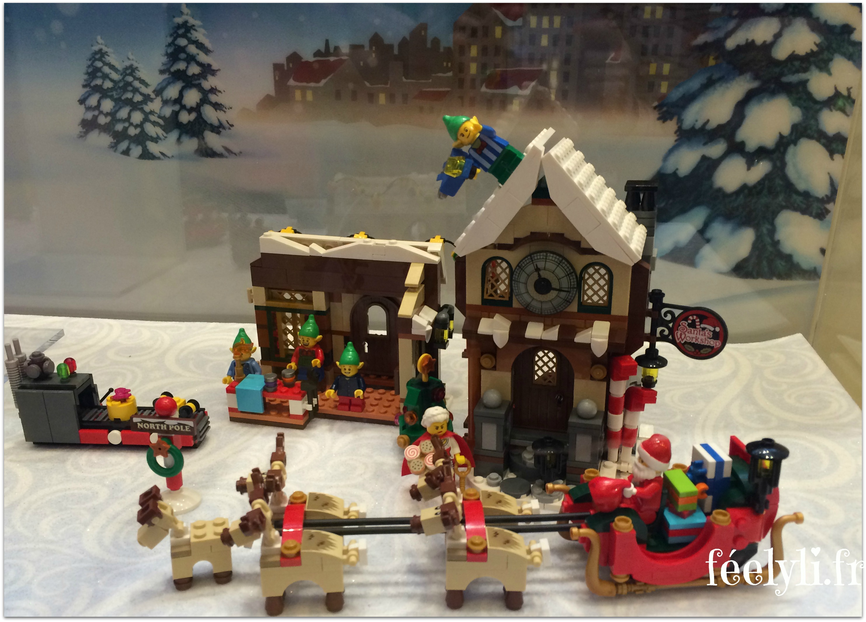 village du pere noel lego