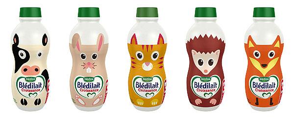 bouteilles bledilait animaux