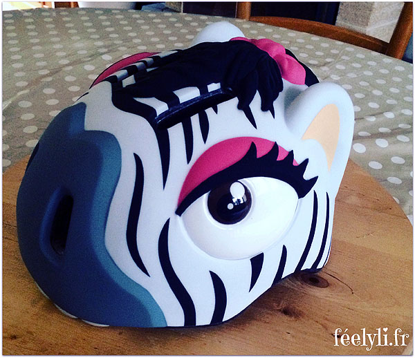 casque zebre crazy
