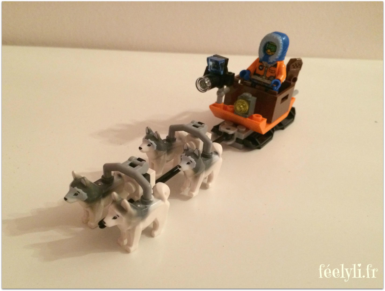 chiens de traineau lego