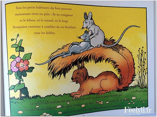 rouquineau l'ecureuil