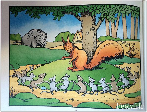 rouquinot l'ecureuil