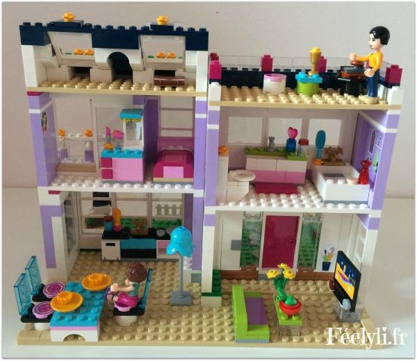 maison d'emma lego friends